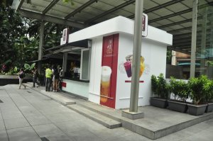 Gong Cha Stand in Singapore